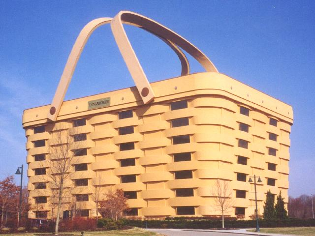 ... E. On Main St. 1.3 Miles To The Basket On The N. Side Of The Road. Longaberger  Home Office; They Makes Baskets! (N40 03.825 W82 20.783) Photo 6 22 00.